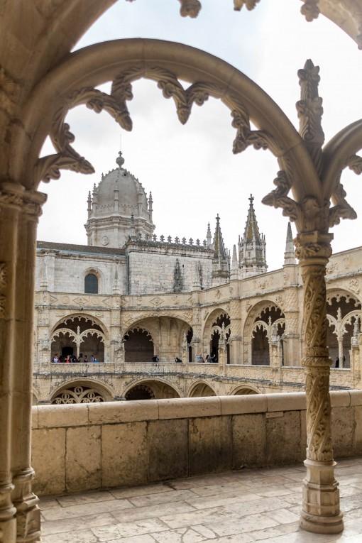 O Claustro do Mosteiro é pra ser apreciado sem pressa. Se você gosta de arquitetura vai querer ver cada detalhe.
