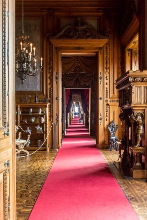 Ter um Palácio inteiro só pra nós, maravilha.