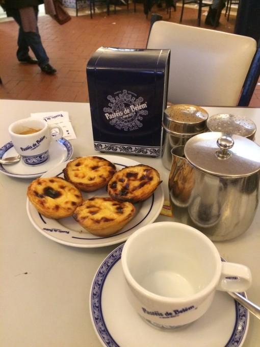 O tradicional e famoso Pastel de Belém