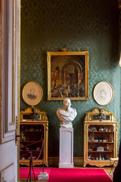 Uma sala mais incrível que a outra. Não tenha preguiça de ir até o Palácio Nacional de Ajuda.
