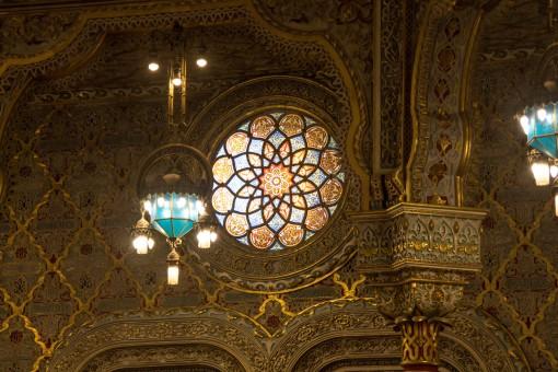Um pedacinho do Salão Árabe pra você ficar com vontade de ir conhecer pessoalmente