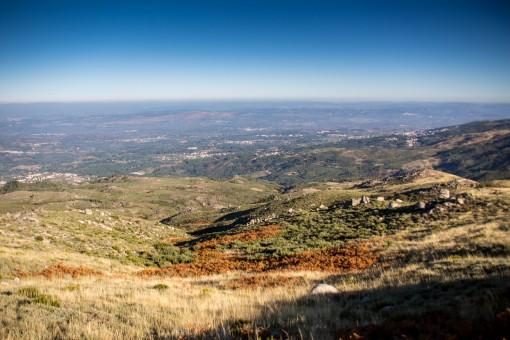 Do ponto mais alto de Portugal a vista é essa.