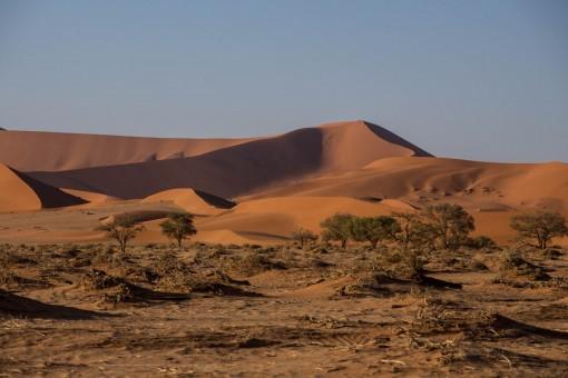 Preste atenção no caminho entre um lugar e outro. As dunas são lindas.