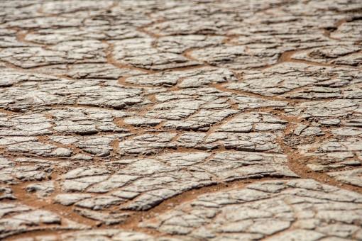 Solo argiloso de Sossusvlei