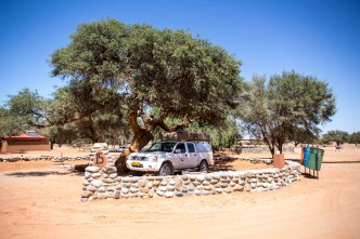 O camping dentro do Parque Nacional Namib Naukluft