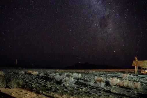 Tenho que treinar mais tirar fotos do céu estrelado, mas dá pra ter uma odeia do que a gente viu.