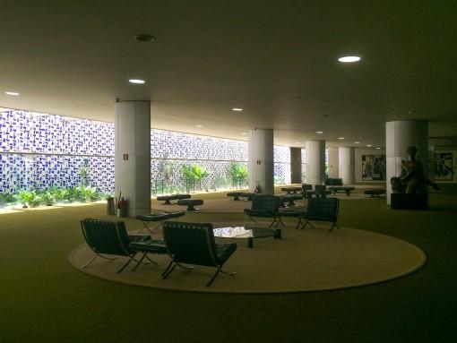 A porta de entrada para o Congresso Nacional e onde acontece o burburinho de todo dia, Salão Verde