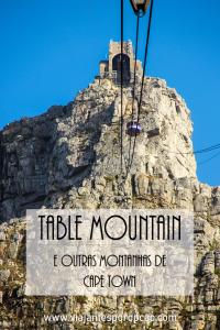 Bondinho da Table Mountain visto de baixo