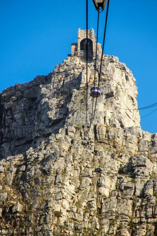 Aí a gente já tava na metade da subida para Table Mountain.