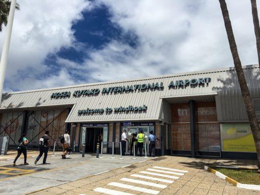 Aeroporto principal da Namíbia em Windhoek