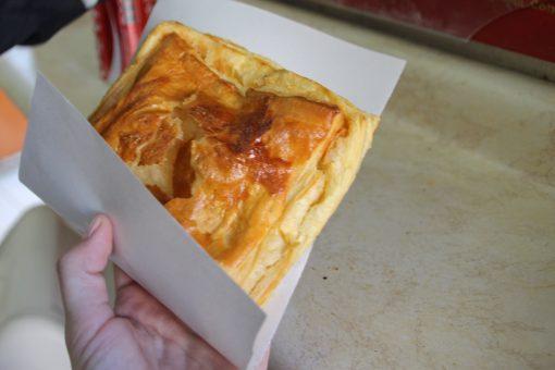 Empanada de queijo inteira do Empório Zunino