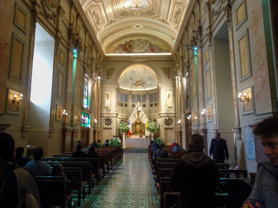 Interior da Catedral Metropolitana de Santiago