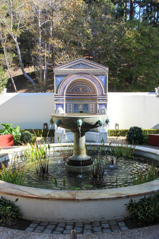 Fonte de Água do Getty Villa