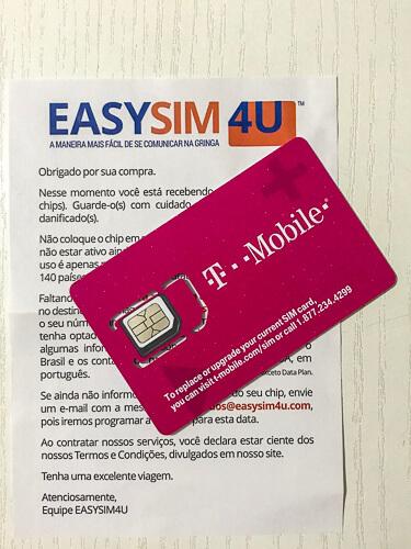 Como usar celular no exterior? Comprando um chip da Easysim4U