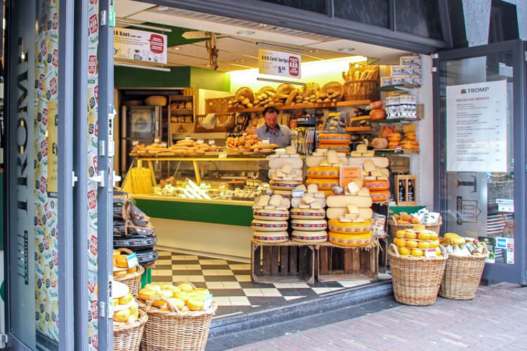 Haarleem Holanda - loja de queijos