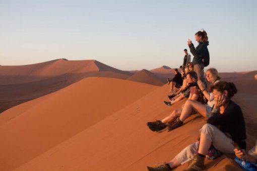Deserto da Namíbia - nascer do sol duna 45
