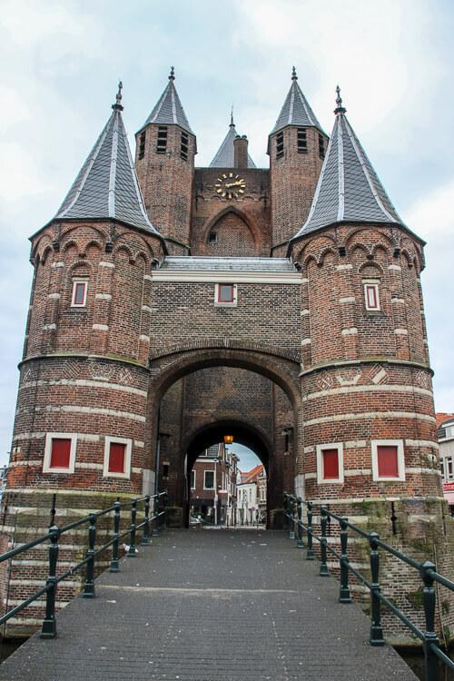 Haarleem Holanda - Portão da cidade