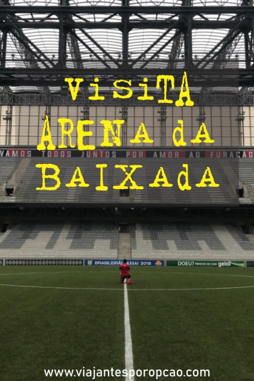 Visita Arena da Baixada - conheça o estádio do Clube Atlético Paranaense e saiba como agendar sua visita.