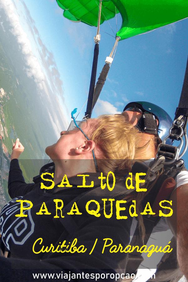salto de paraquedas curitiba - para quem não sabe Curitiba não tem salto de paraquedas, mas Paranaguá sim e fica menos de 100 km de distância. Aqui eu conto como foi saltar.