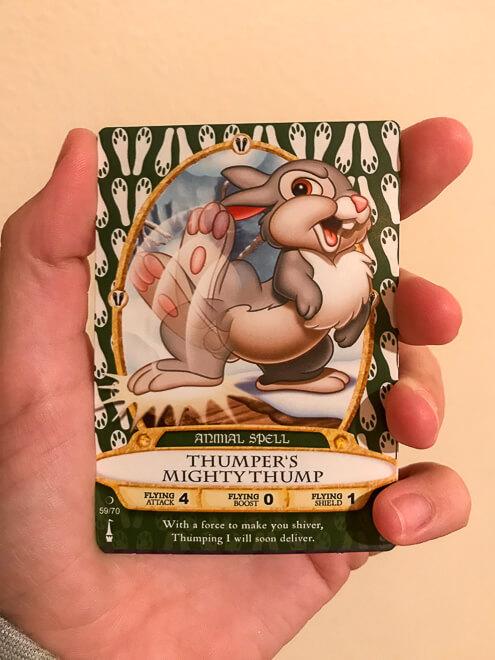 Atrações do Magic Kingdom - carta do coelho
