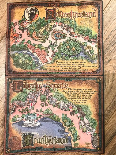 Mapa do Sorcerers of Magic Kingdom
