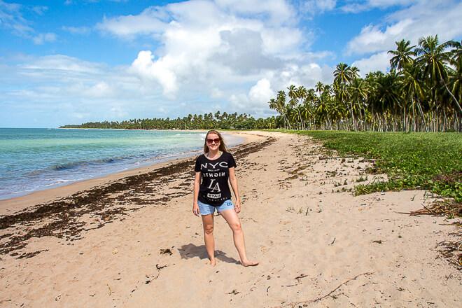 praia da laje ao lado da praia do Patacho