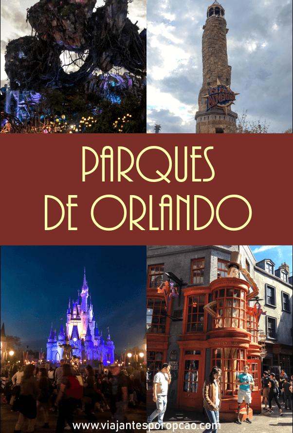 Conheça os principais parques em Orlando e saiba que não é só de Disney que a cidade vive. Tem muito mais diversão do que você imagina