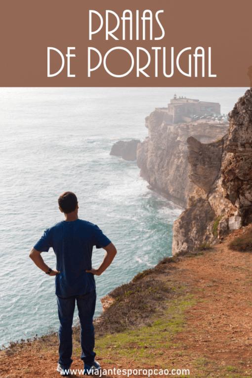Praias de Portugal - descubra três praias diferentes em Portugal e uma região toda de litoral maravilhoso para explorar.