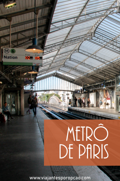 Como usar o metrô de Paris e porque você não deve levar malas gigantes pra lá.