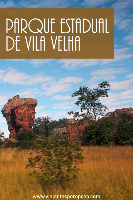 Parque estadual de Vila Velha tem rochas esculpidas pelo tempo que formam figuras curiosas como índios, taça e até uma garrafa.