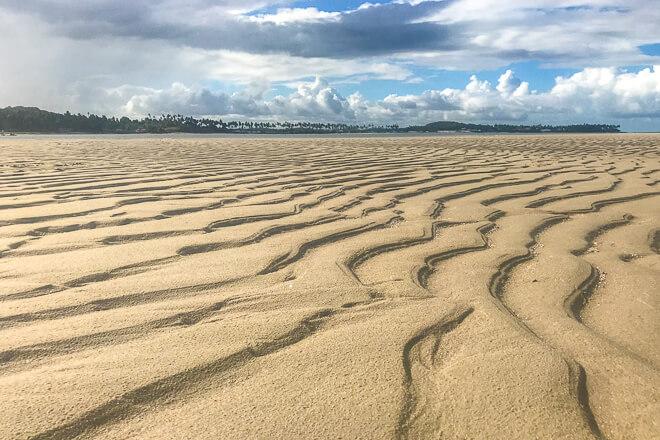 Praia dos Carneiros fotos - um dos maiores bancos de areia do nordeste