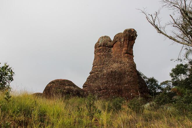 Parque estadual de vila velha - bota