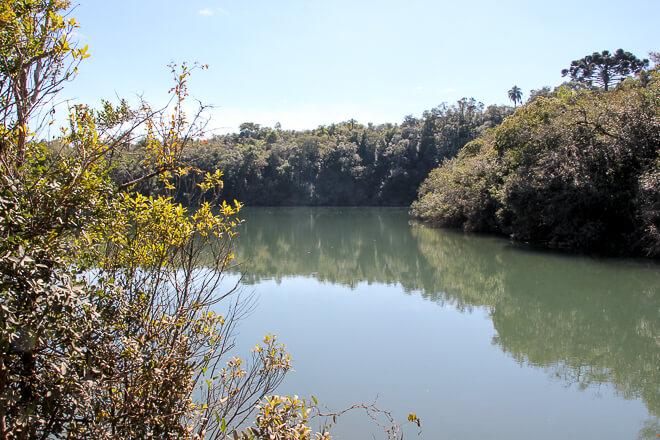 Lagoa Dourada em Ponta Grossa