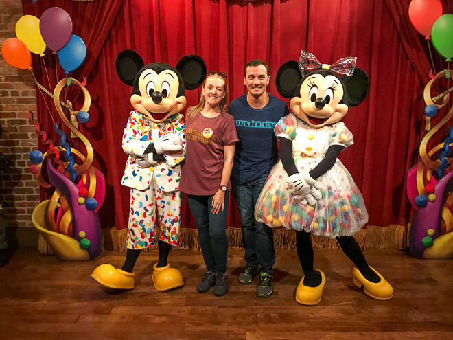 Parques em Orlando - os principais anfitriões dos parques, Mickey e Minnie