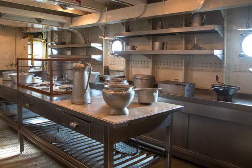 Cozinha do Navio Gil Eannes