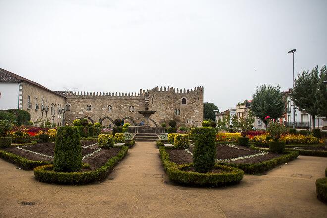 Jardim de Santa Bárbara em Braga POrtugal