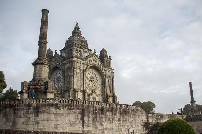 Santuário de Santa Luzia em Viana do Castelo POrtugal