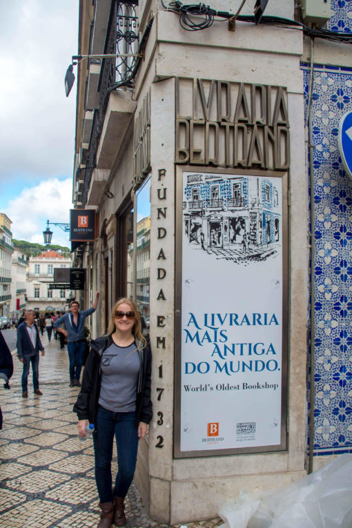 O que fazer em Lisboa em 1 dia - Livraria Bertrand, a mais antiga do mundo ainda em funcionamento.