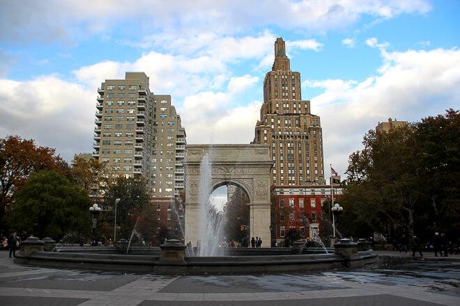 Soho em Nova York - Washington Square