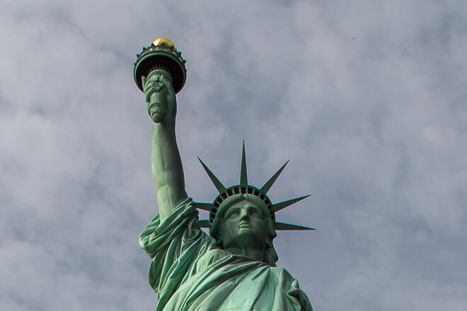 Coroa da Estátua da Liberdade