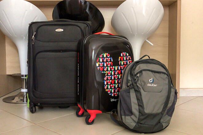Check List de Viagem - mala de mão e mala despachada