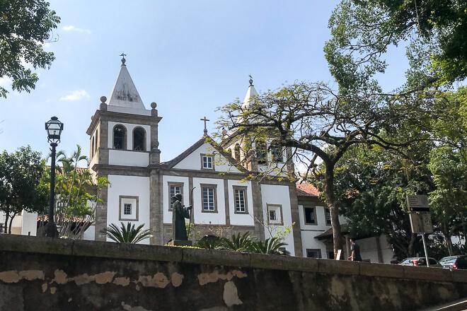 Mosteiro de São bento centro do Rio de janeiro