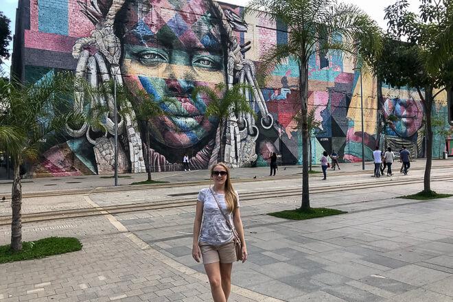 Mural Etnias centro do Rio de Janeiro