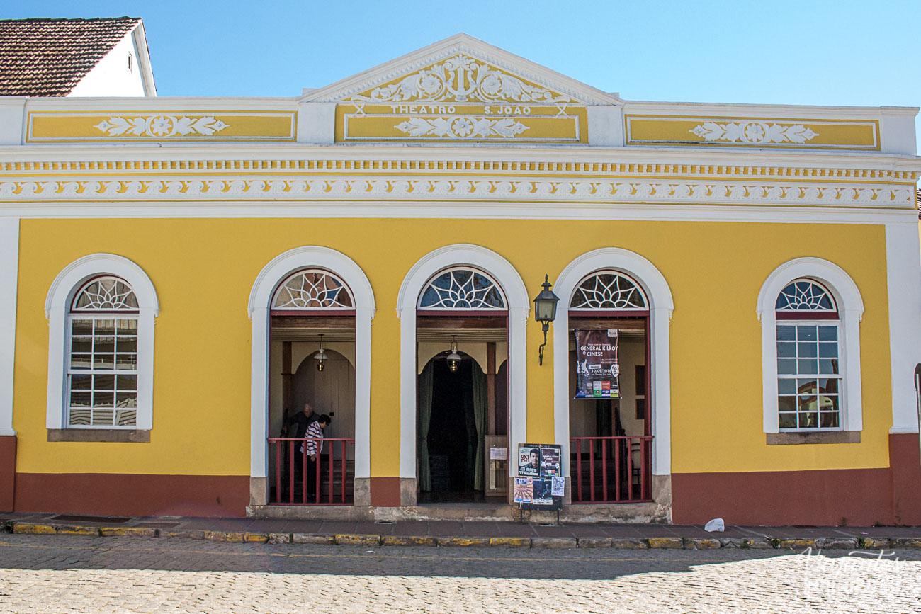 Teatro São João na Lapa