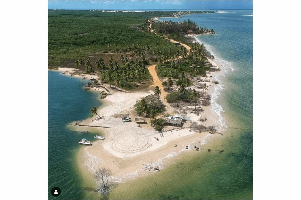 O que fazer em Sergipe - Praia do Saco