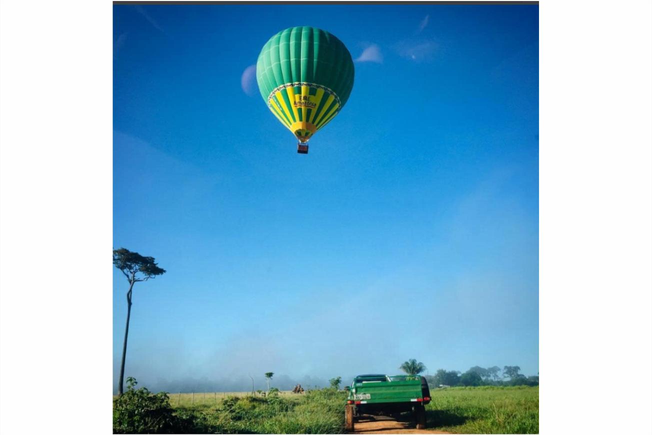 O que fazer no Acre Passeio do Balão