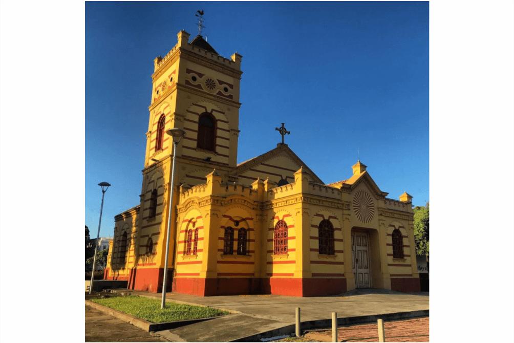 O que fazer em Boa Vista - Igreja Matriz NOssa Senhora do Carmo