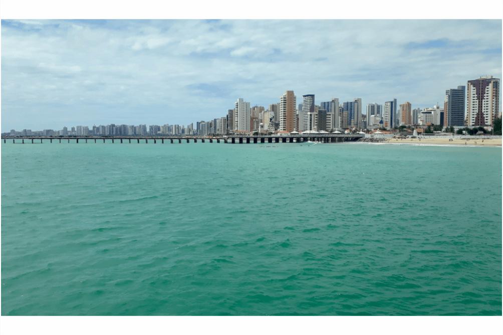 O que fazer em Fortaleza - Praia de Iracema