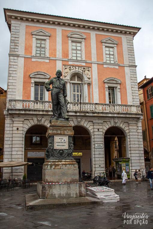 piazza garibaldi -pisa Itália