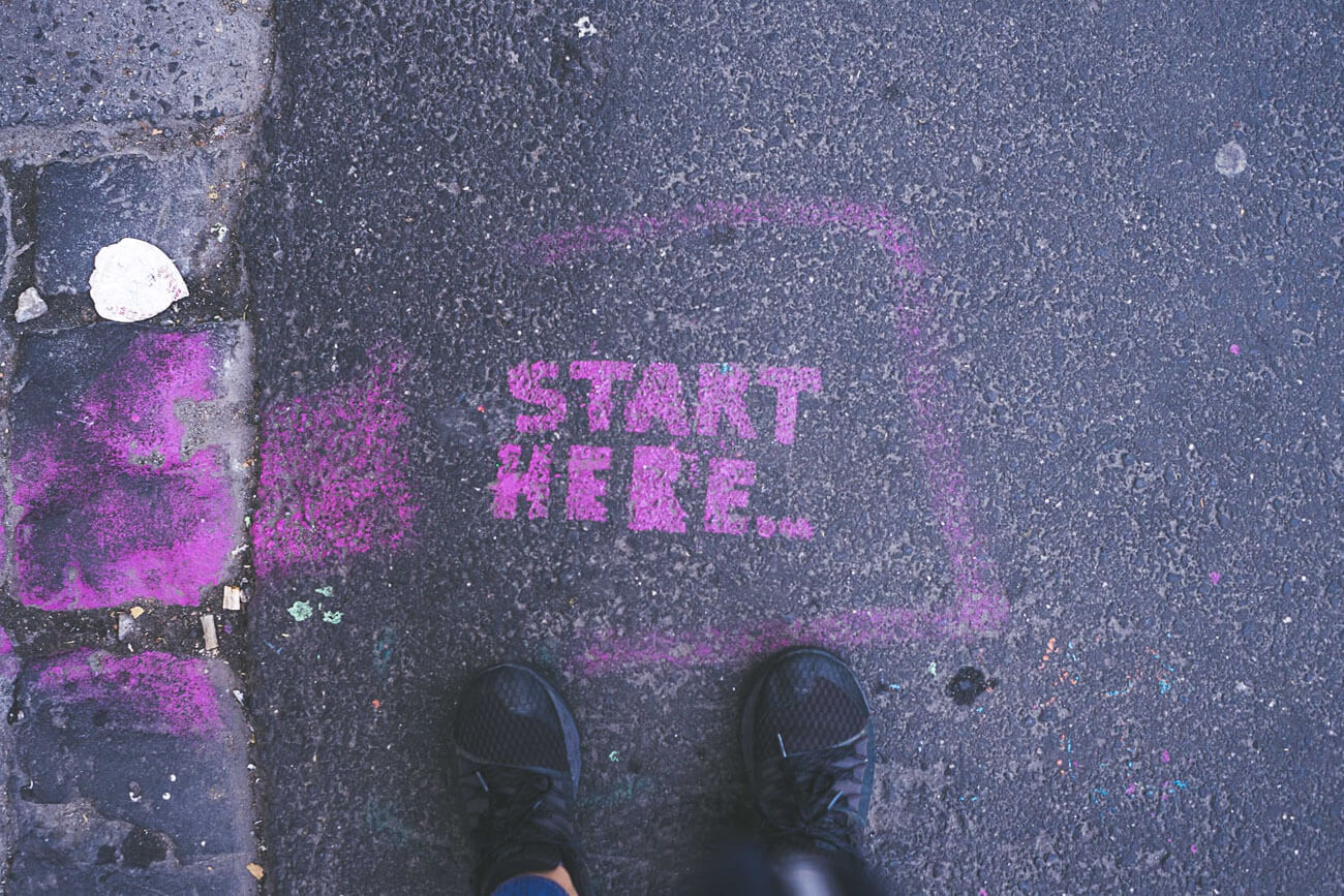 é hora de começar, vale pra tudo na vida, inclusive viagens